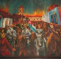 Incendio Bayamo: Gloriosa página de nuestra historia