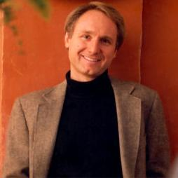 Writer Dan Brown.