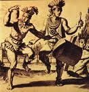 Baile areíto de los aborígenes cubanos
