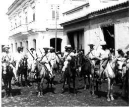 Tropas mambisas cubanas en la guerra contra España