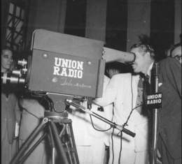 Union Radio TV camara y presidente Prio 24 de oct 1950-600x542.jpg