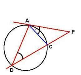 Relaci n entre una secante y una tangente ecured for Exterior tangente y secante