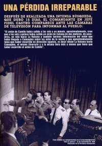 Fidel anuncia el 12 de noviembre el fin de las operaciones de búsqueda.