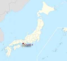 Osaka location map.png