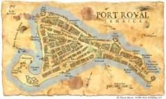 Mapa de Port Royal