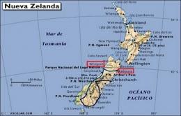 Mar De Tasmania Mapa.Mar De Tasmania Ecured
