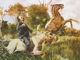 José Martí, su caída en Dos Ríos