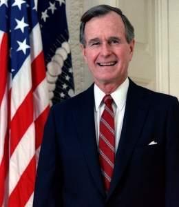 George H. W. Bush fue director de la CIA, vicepresidente y luego presidente de los Estados Unidos