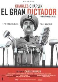 Cartel de The Great Dictator (1940) de Charles Chaplin