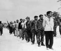 Mercenarios detenidos en Playa Girón