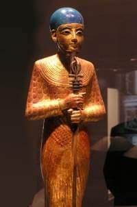 Ptah de Menfis, dios reinante durante las dinastías III y IV.