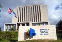 Imagen del edificio de la Biblioteca Nacional de Cuba