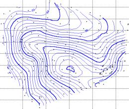 Curva de nivel ecured for Planos topograficos pdf
