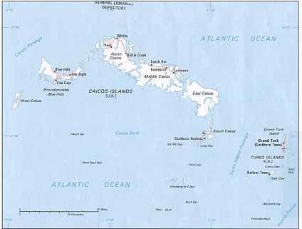 Islas Turcas Y Caicos Ecured