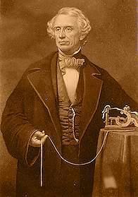 Resultado de imagen para Fotos Samuel Morse presenta en público el telégrafo eléctrico.