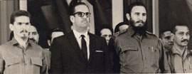 En la   constitución del Comité Central con Fidel, Ramiro y Dorticós