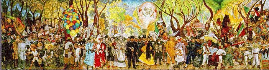 Diego rivera ecured for Arte mural mexicano