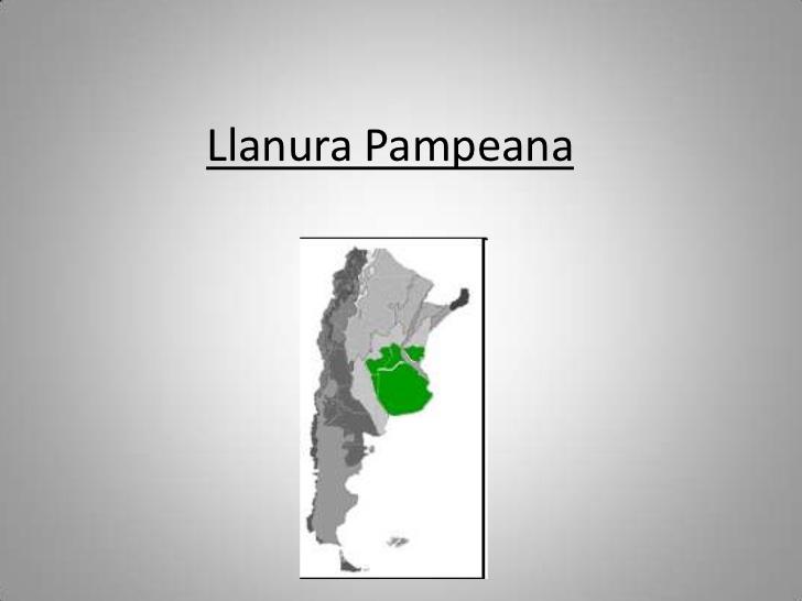 Llanura Pampeana  Argentina