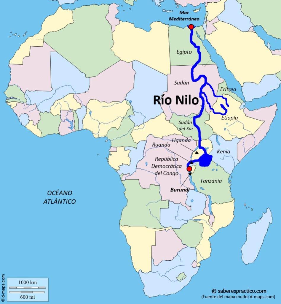 Río Nilo Ecured