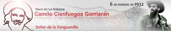 Aniversario 86 del nacimiento de Camilo Cienfuegos.