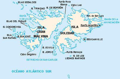Islas Malvinas Argentina Ecured