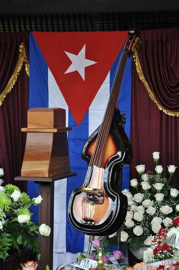Tributo a Juan Formell en el Lobby del Teatro Nacional de Cuba