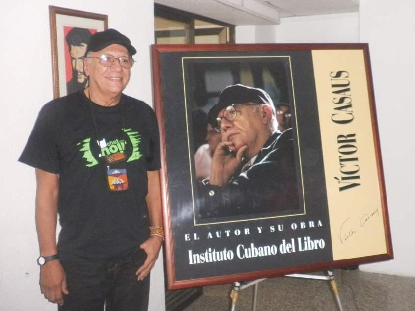 En el homenaje El Autor y su obra (17 de diciembre de 2014).
