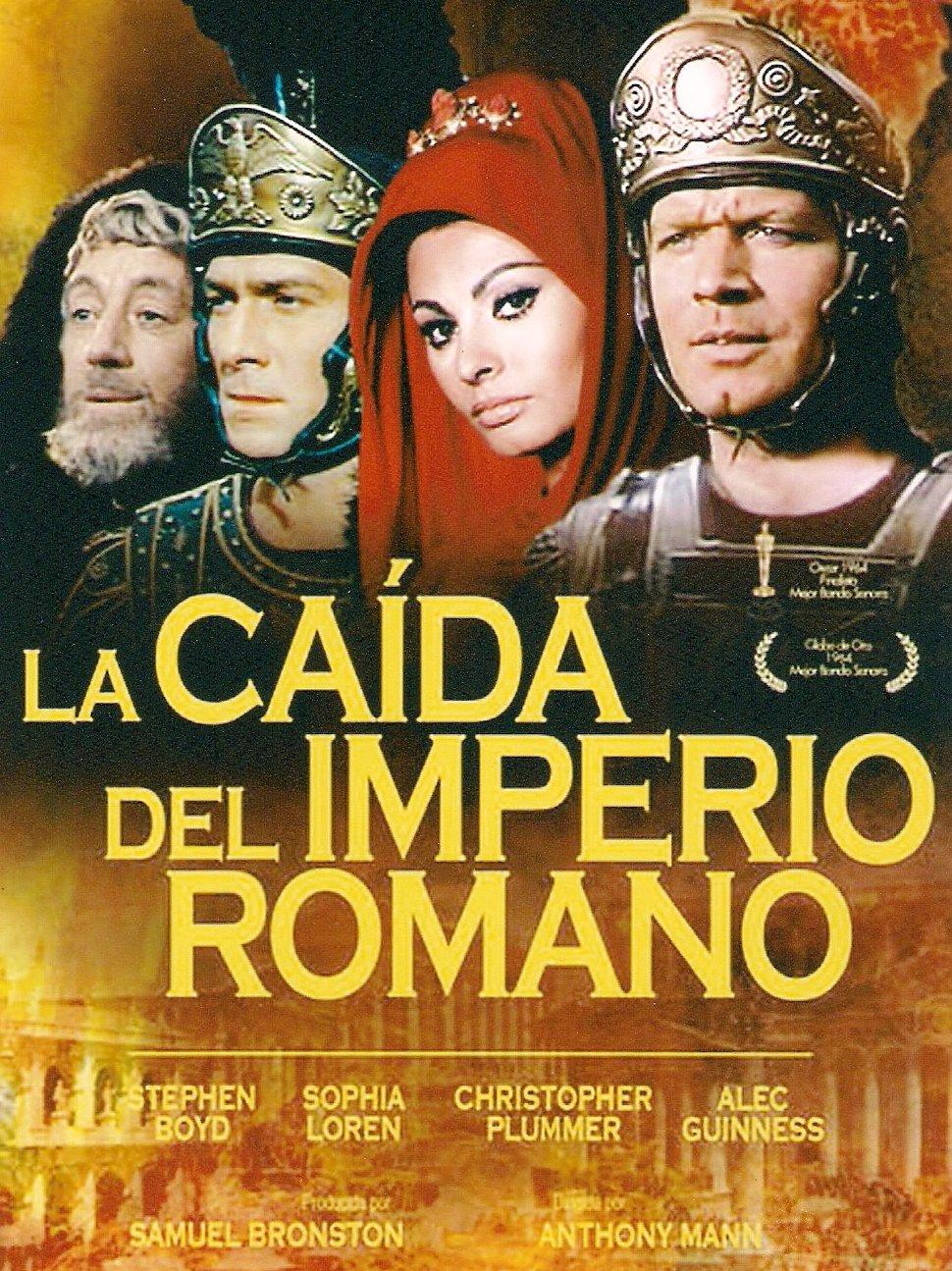 La Caída Del Imperio Romano Película De 1964 Ecured
