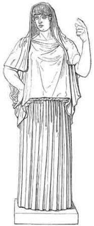 Hestia Giustiniani - Ancient Greco-Roman Statue