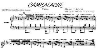 Cambalache Canción Ecured
