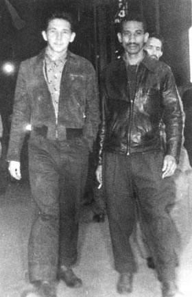 Raúl Castro y Almeida, en México días antes de la salida en el Granma
