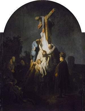 El Descendimiento De La Cruz Cuadro De Rembrandt Ecured