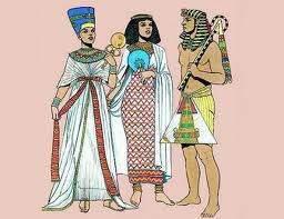 Indumentaria En El Antiguo Egipto Ecured