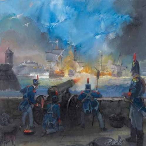 Batalla De Cartagena De Indias Colombia 1741 Ecured