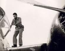 Una de sus primeras responsabilidades tras el triunfo revolucionario fue la jefatura de la Fuerza Aérea Rebelde