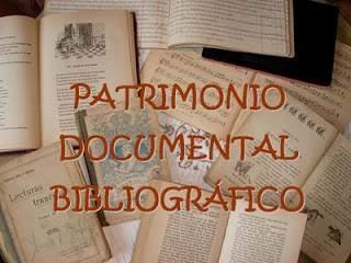 Resultado de imagen de patrimonio documental y bibliográfico