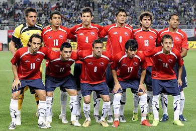 Resultado de imagen para Seleccion Nacional de Fútbol de Chile