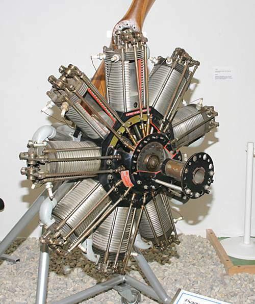 Motor alternativo de aviacion