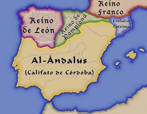 Mapa Reino De Asturias.Reino De Leon Ecured
