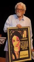 En la entrega de la Distinción Gitana Tropical, en el edificio de Arte Cubano del Museo Nacional de Bellas Artes (en LaHabana) el 16 de octubre de 2012.
