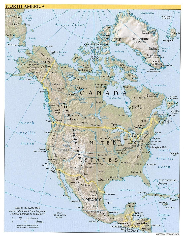 América Del Norte Ecured