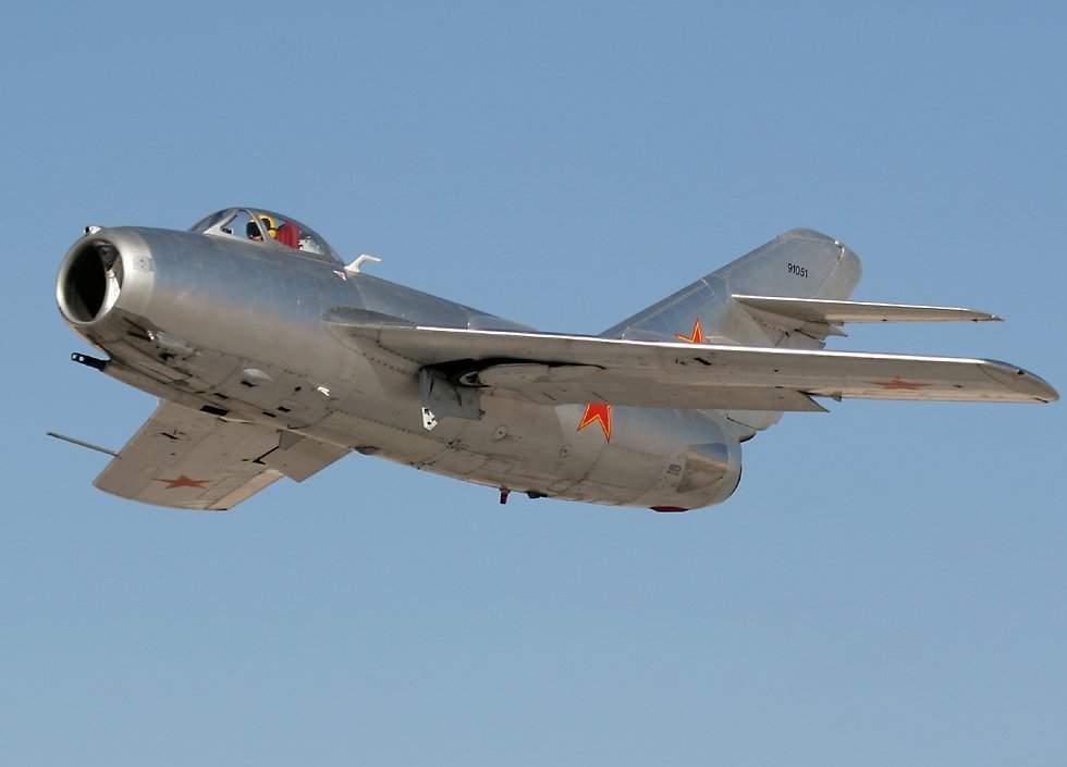 Mikoyan Gurevich MiG-15 - EcuRed