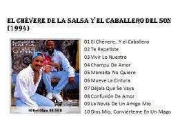 Disco El Chévere de la Salsa y el Caballero del Son grabado en 1994 y obtuvo el premio EGREM.
