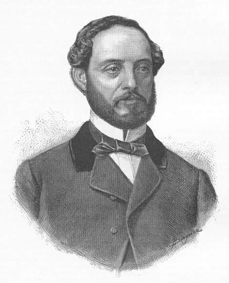 Juan Prim y Prats, militar y político español que fue buen amigo de Céspedes durante su estancia en España.