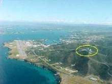 vue aérienne base navale de Guantanamo