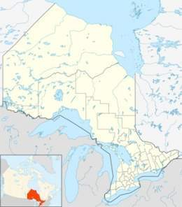 Canada Cataratas Del Niagara Mapa.Cataratas Del Niagara Canada Estados Unidos Ecured