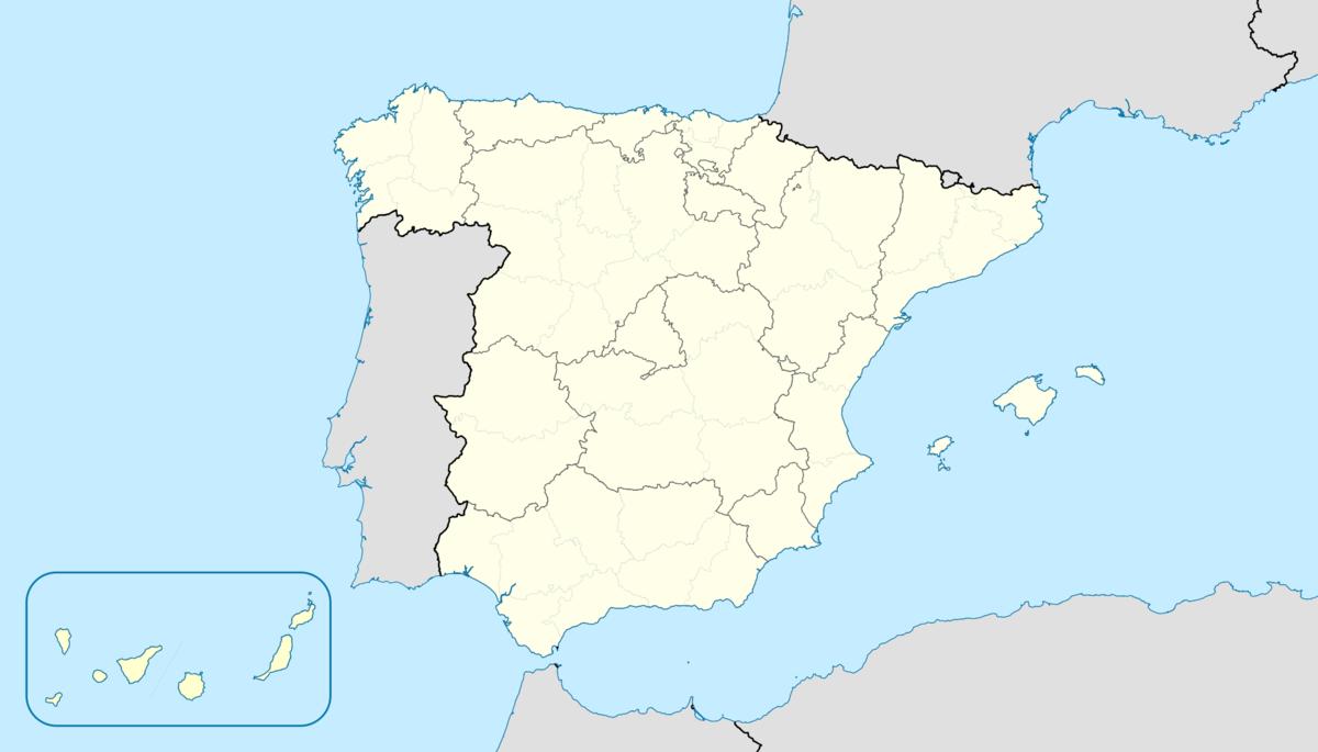 Mapa Economico De España.Espana Ecured