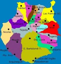 Mapa De Gran Canaria Miniatura Del Mapa Topografico Genera Flickr