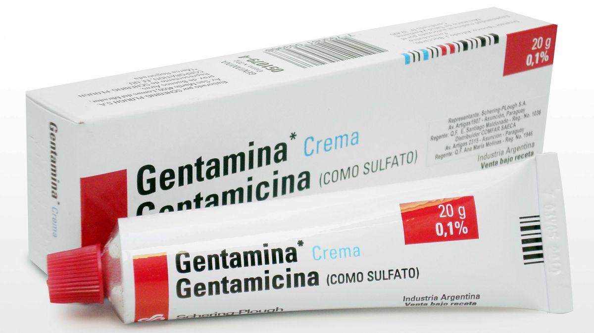 Gentamicina En Crema Ecured