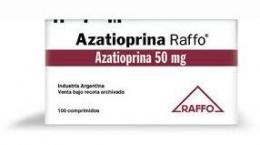 Resultado de imagen de azatioprina